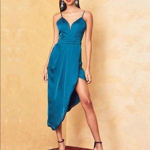 Lovers + Friends Brynn Asymmetrical Midi Dress